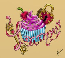 cup cake by abcn