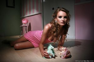 Dollhouse Barbi II by Raphael-Ben-Dor