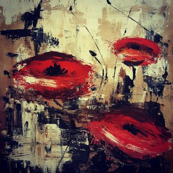Poppies  by Nikkin36