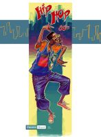 Hip Hop 80's T-shirt by juarezricci