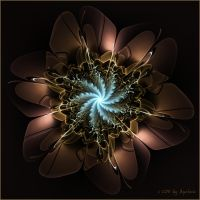 Spiral bloom by Margot1942