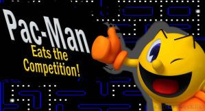 Pac-Man for SSB4 by Elemental-Aura