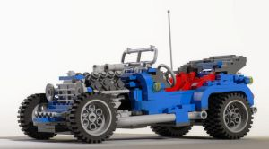 Lego Car by JPaulBelmondo