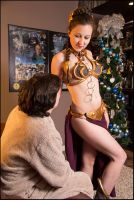 Episode VII: A Slave Leia Christmas by Project-27