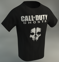 Call Of Duty Ghosts T Shirt by Dracu-Teufel666
