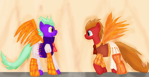 Contest entry: Steampunk ponies by WoefulWriters
