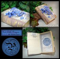 Periwinkle Dragon on Family Book by Tpryce
