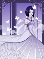 Raven's Wedding Dress? by Ceshira