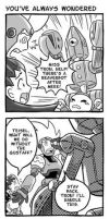 Tron Bonne 4Koma 2 by glitcher