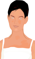 Katie Holmes:1st Vector by CoolRik