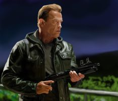 Arnold - Terminator by Clemiltonbs