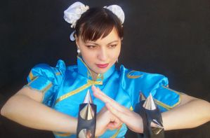 Chun Li Cosplay... Ready? by keidashu