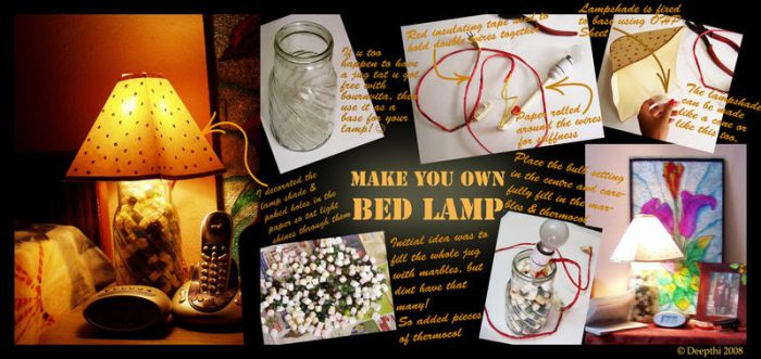 ..::Make your own Lamp::.. by mickeykumar