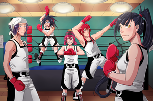 MM-Boxing CLub Poster by haseos