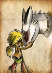 Bond Between a Cursed Boy and his Dragon by Super-Sonic-101