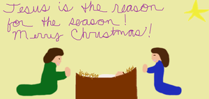 Jesus is the Reason! by neice1176