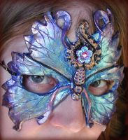 Blue Butterfly Mask by Namingway