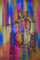 Cello Commission by ChalkTwins