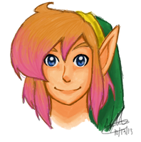 ALttP/LA Link by stargazer-eyes