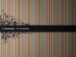 Knowledge vs Creativity by iSiebe