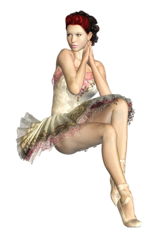 Female 20 PNG Stock by Roy3D