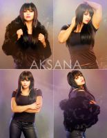 Aksana: In Black by UniqueOneDesigns