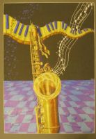 saxophone by Smiley1039