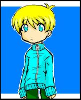 .:Sad Butters:. by Worldend-Dominator