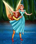 Thumbelina and Cornelius by Mareishon