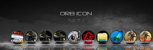 Orb Icon Set 1 by Mmagoo