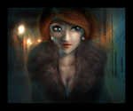 Woman of the Evening by morosemordant