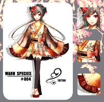 [SHORT RE-SELL - N.Y.P] WARN Species #004 by Akeita