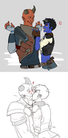 kisses like a grenade by TheRapace