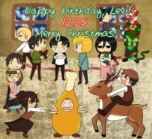 Happy Birthday, Levi-Heichou! by miiritoki