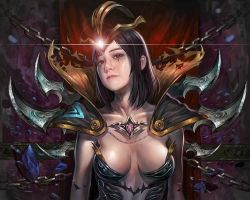 leblanc / league of legend by ropeplay