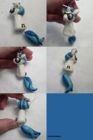 DJ Pon-3 Vinyl Scratch Dangly by ChibiSilverWings