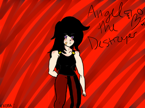 Angel the Destroyer by FantasticCheese