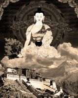Over Lhasa 2 by volckening