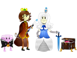 The Kettle Isle Characters by HeadcrabSupreme