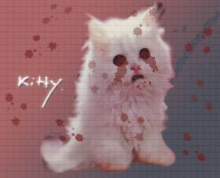 The Patchwork Kitten by queegy
