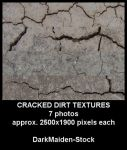 Cracked Dirt Textures by DarkMaiden-Stock