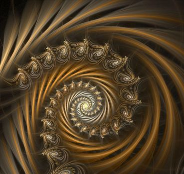 Do I like spirals ? by gitte