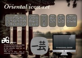 Oriental icon set by JGi-desIgn