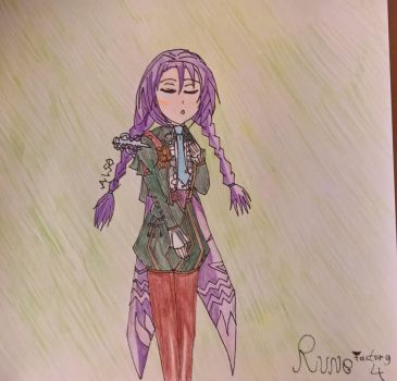 Rune Factory 4 Character Series - 02 Clorica by happydreamer96