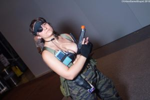 New York Comic Con 2015 - Naked Snake Peace Walker by VideoGameStupid