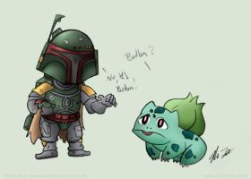 Boba and Bulba by TerribleToadQueen