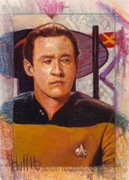 star trek tng 2 sketch card 6 by charles-hall