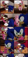 Amy and Sonic request by 3j-75g