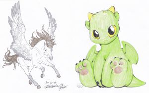 Fantasy Adopts 2 by ForeverFallen16