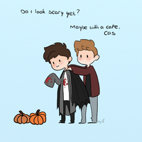 Happy Halloween by Castielogically